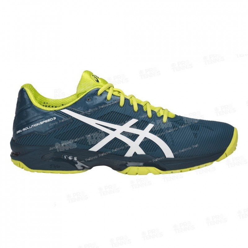 chaussure asics jaune orange