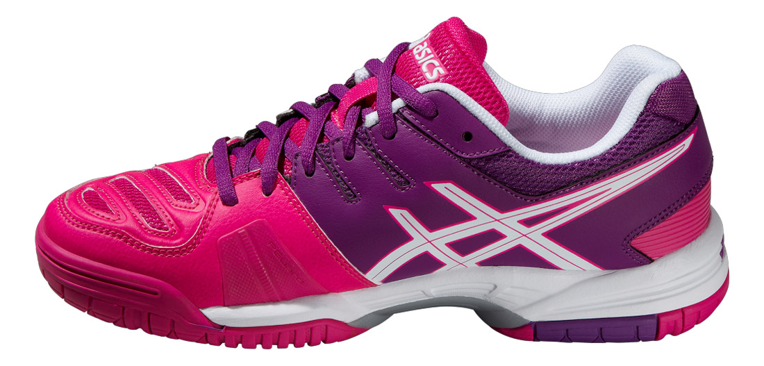 Pink Glowwhitegrape Asics Tennis De 5 Game Chaussures Femme Gel 806pgwq
