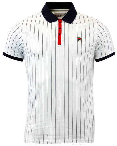 POLO DE TENNIS HOMME FILA CLUB VINTAGE STRIPES