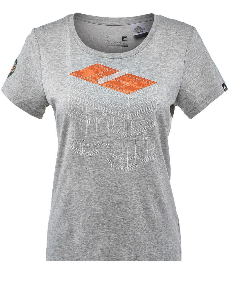 tee shirt tennis adidas femme