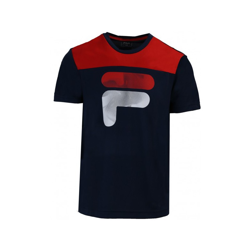 TEE SHIRT FILA JUNIOR TIM BLEUROUGE